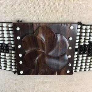 Accessories - Beaded Southwestern Stretch Belt